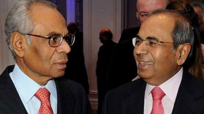 Sri and Gopichand Hinduja, who run the Hinduja Group of companies in the UK, registered a 1.35 billion pounds jump in their fortunes.