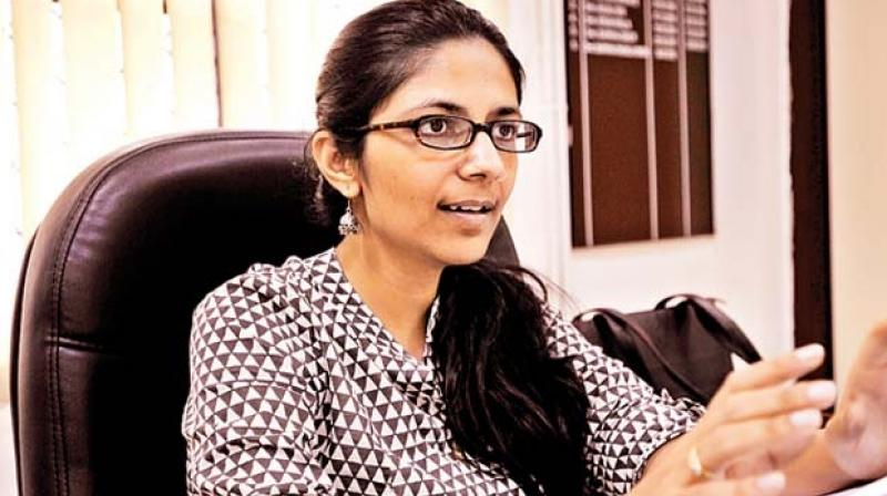 DCW chief Swati Maliwal has demanded a CBI probe into 'human trafficking racket' being run by Virender Dev Dixit. (Photo: PTI/File)