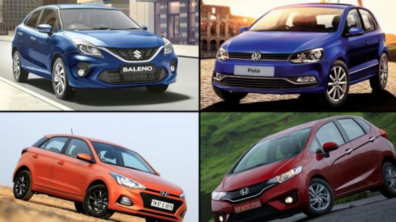 Baleno is the only premium hatchback that registered a positive MoM growth.