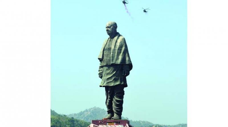 The Statue of Unity.