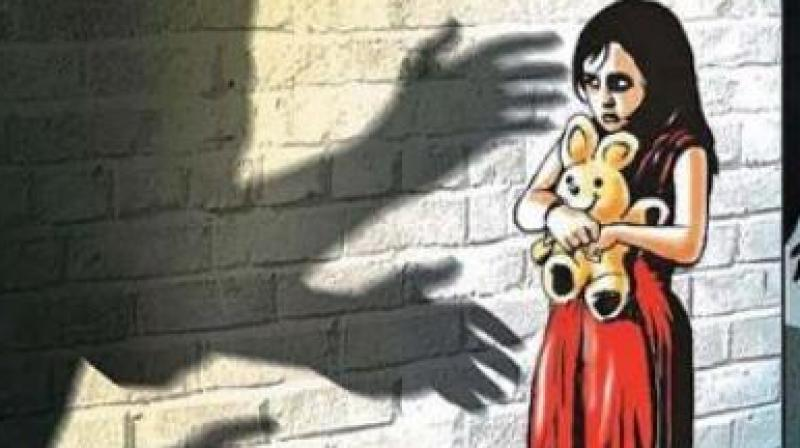 According to Port police station officials, on the day of the incident, the girl was playing with the daughter of the accused when the accused sent his daughter away to buy chocolates from the shop. (Representational Image)