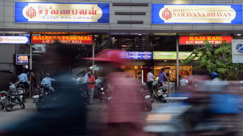 In 1981, having opened a grocer's shop in Chennai -- then known as Madras -- he took the brave step of opening his first restaurant at a time when eating out was unusual for most Indians. (Photo: AFP)