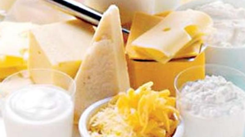 For ice creams, milk lollies and kulfis, norms include total solids minimum, weight minimum grams/litres, and milk protein