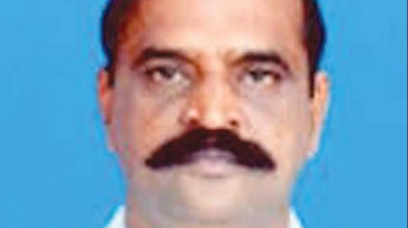 State Information Minister Kadambur C. Raju