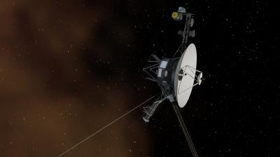 NASA suggests that Voyager 1 should keep on running for another 2-3 years before it runs out of fuel in the interstellar space.