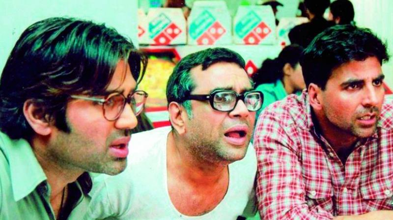 Ahmed Khan as the director of the third part of his franchise Hera Pheri.