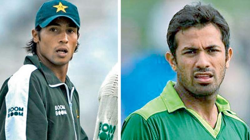 The selectors had discarded Wahab from the tour to England but after the thrashing given to the Pakistani pacers in the one-day series they apparently had a change of mind.
