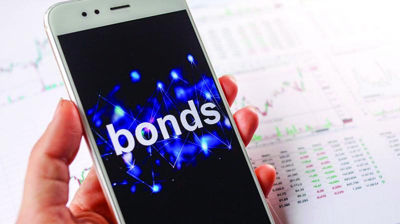 Sales of rupee bonds rated below AAA have halved so far this year to Rs 699 billion ($9.7 billion) as a wave of debt defaults and a funding crunch in the shadow banking sector make investors reluctant to buy riskier notes.