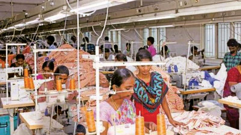 All workers, except garment sector employees, earn a monthly income of Rs 11,557.