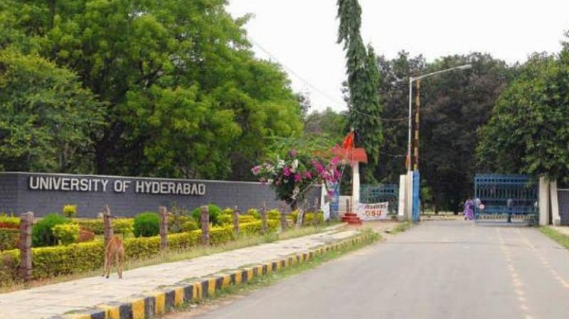 University of Hyderabad. (Photo: PTI)