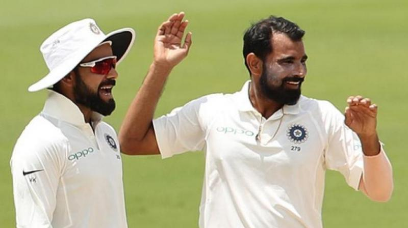 The entire saga also puts Indian Premier League (IPL) franchise Delhi Daredevils in a fix over Shami's availability for the upcoming campaign.(Photo: BCCI)