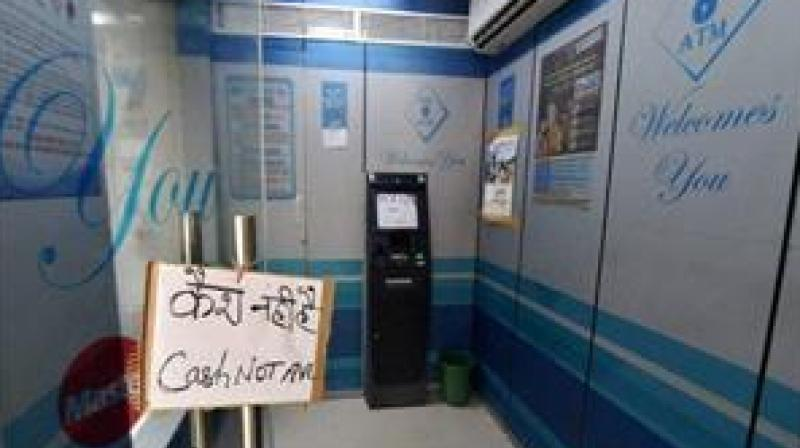 As per a data of RBI, there were 2,21,492 Automated Teller Machines (ATMs) in the country as at September-end 2018. (Photo: PTI)