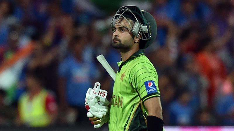 Ahmad Shahzad fails doping test