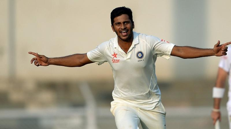 Shardul Thakur will hope to make his ODI debut for Team India in the upcoming ODI series. (Photo: AFP)