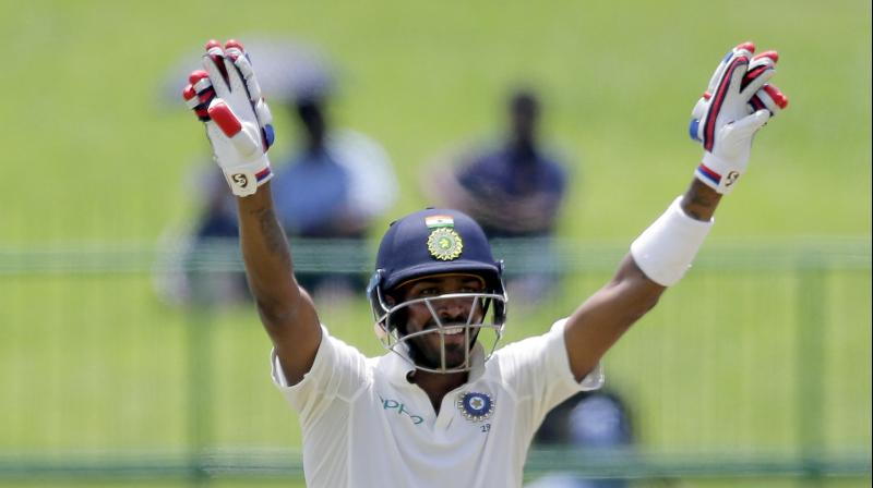 Hardik Pandya said he never thought he could steal 26 runs from the over of Malinda Pushpakumara.(Photo: AP)