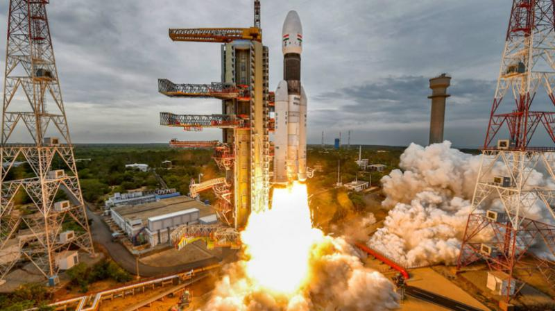 Chandrayaan-2 aims at landing a rover on the unchartered Lunar South Pole are normal. (Photo: PTI)