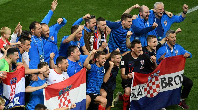 Not only did they reach the final of the masterpiece tournament for the first –ever time, but also they became the smallest nation in terms of population to reach the final since Uruguay in 1950. (Photo: AFP)