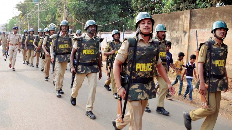 In Chintur Agency area also, the police has provided security at all the vulnerable polling stations to help voters reach them and cast their vote.(Representational Image)