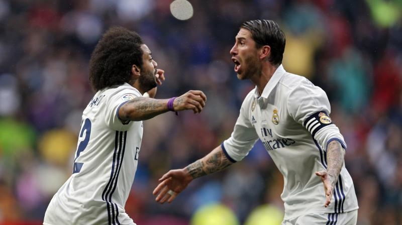 Marcelo cut back to open a firing angle through a packed area before scoring the dramatic winner with just six minutes remaining. (Photo: AP)