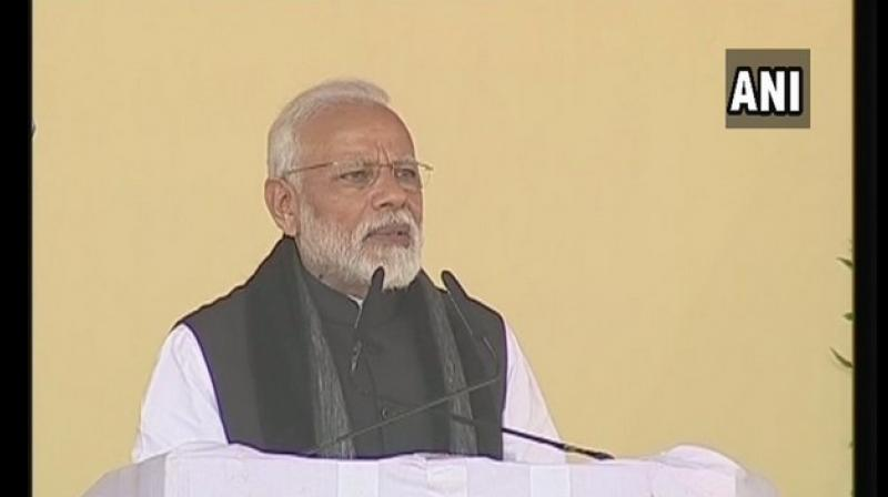 Modi said, 'We have given full authority to the security forces to decide the time, place, and nature of any further operations that need to be carried out in response to Pulwama terror attack.' (Photo: ANI)