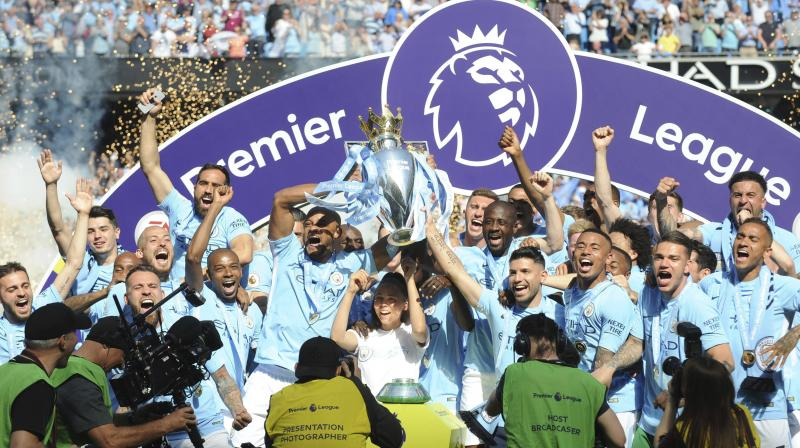 Champions Manchester City are favourites to become the first side in a decade to retain the title. (Photo: AP)