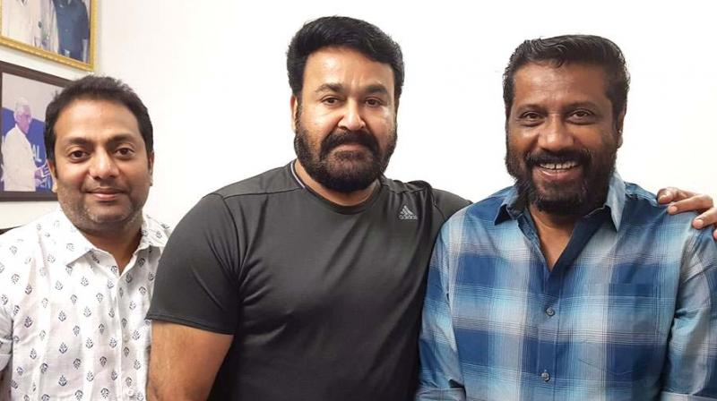 Mohanlal took to his Facebook page to let the cat out of the bag.