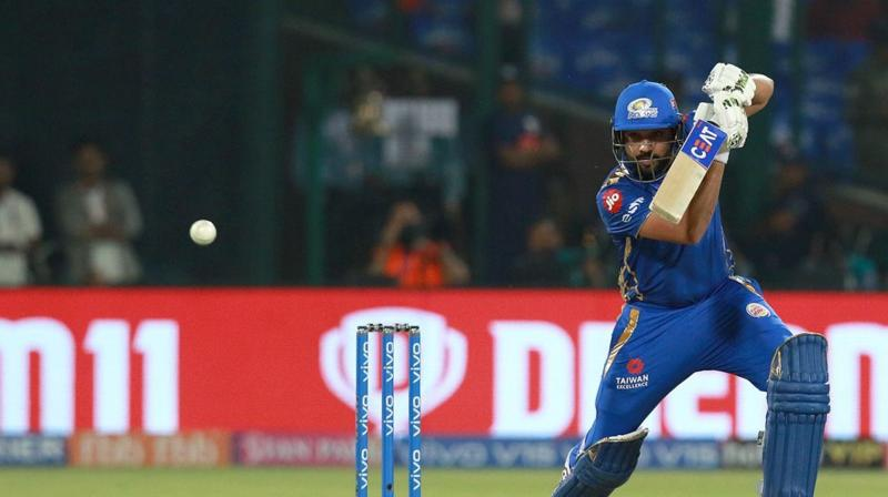 Rohit just needed 12 runs ahead of the game against the Capitals to achieve the feat. (Photo: BCCI)
