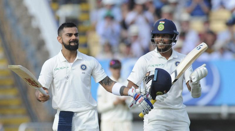 Virat Kohli erased the ghosts of 2014 with his first Test century in England. (Photo: AP)