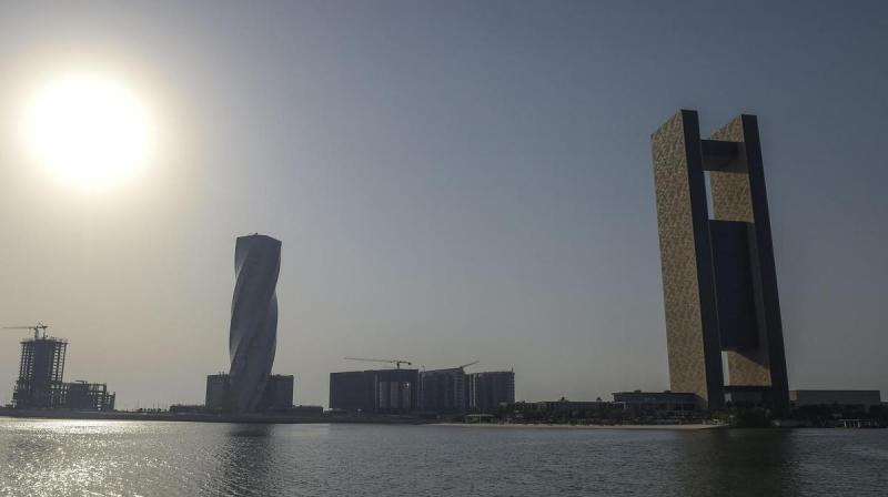 The Bahrain News Agency's report on Tuesday, however, shows temperatures are soaring even higher. (Photo: AFP)