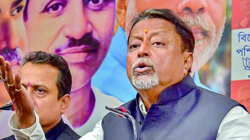 Former TMC leaders Sovan, Baisakhi not leaving BJP: Mukul Roy
