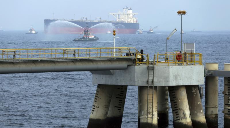 Saudi Arabia's Energy Minister Khalid al-Falih said on Monday that two Saudi oil tankers were targeted on Sunday. (Photo:AP)