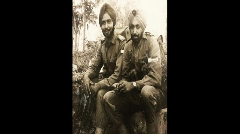 Alongside a black-and-white photograph with a friend from his army days, Singh tweeted, 'There is no greater bond than the one made in the Indian Army. Grateful to have had the friendship and company of the nation's best. Cheers to the friends that accept you for who you are and always have your back. Happy World Friendship Day.' (Photo: ANI)