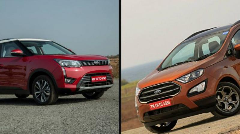 The XUV300 will rival likes of the Maruti Vitara Brezza, Tata Nexon, Ford EcoSport and upcoming Hyundai Qxi.