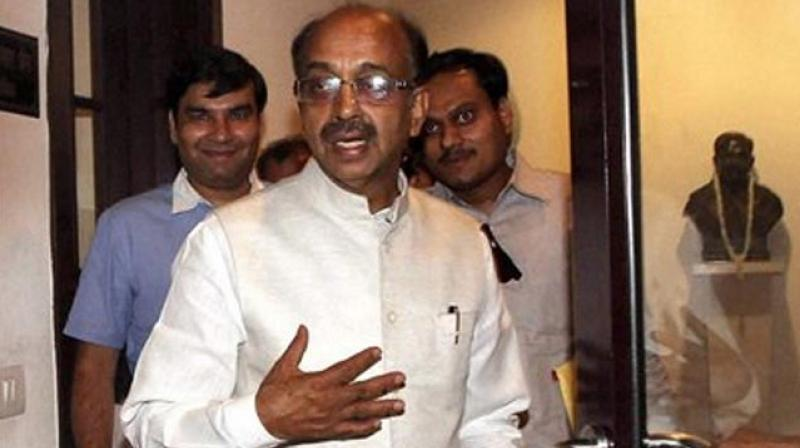 Vijay Goel said the IOA chief was equally responsible for taking up the item which was not on agenda of the meeting. (Photo: PTI)