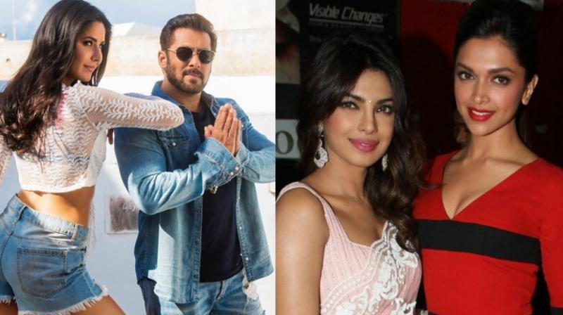 Salman Khan has worked with Katrina Kaif and Priyanka Chopra, but is yet to work with Deepika Padukone in a film.