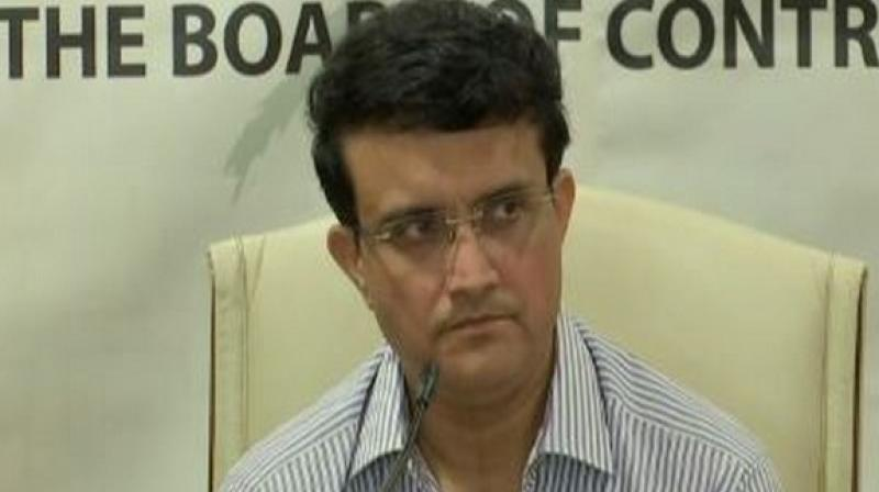 A player being approached by a bookie is not a problem but what he or she does after that is, said BCCI president Sourav Ganguly on Sunday. (Photo:ANI)