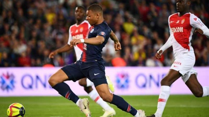 Sunday's Ligue 1 game between Monaco and Paris Saint-Germain has been postponed because of bad weather. (Photo:AFP)