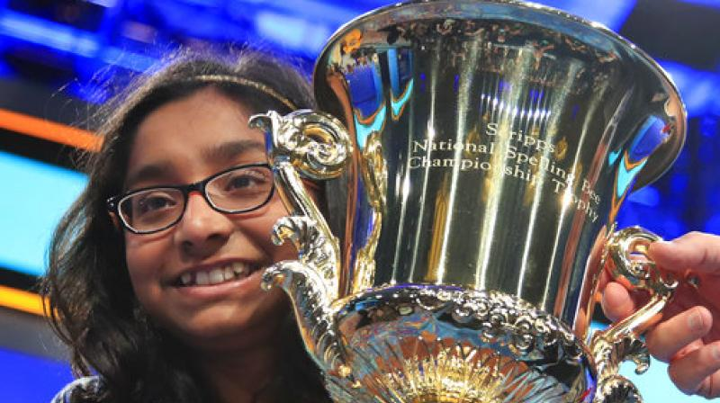 Ananya is the 13th consecutive Indian-American to win the bee and the 18th of the past 22 winners with Indian heritage, a run that began in 1999 with Nupur Lala's victory. (Photo: AP)