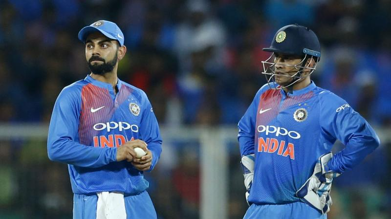 In January 2017, Kohli took over as permanent skipper for ODIs and T20Is from Dhoni, who continues to play both the formats. (Photo: AP)