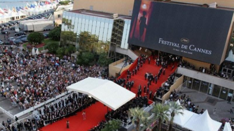 Top view of Cannes Film Festival.