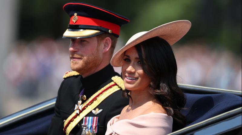 Meghan Markle makes 'nervous' balcony debut at The Queen's Trooping the Colour