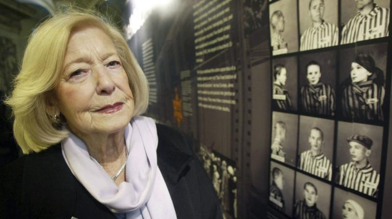 In this Jan. 27, 2004 file photo, Holcaust survivor Gena Turgel poses for a photo, in London. (Photo: AP)