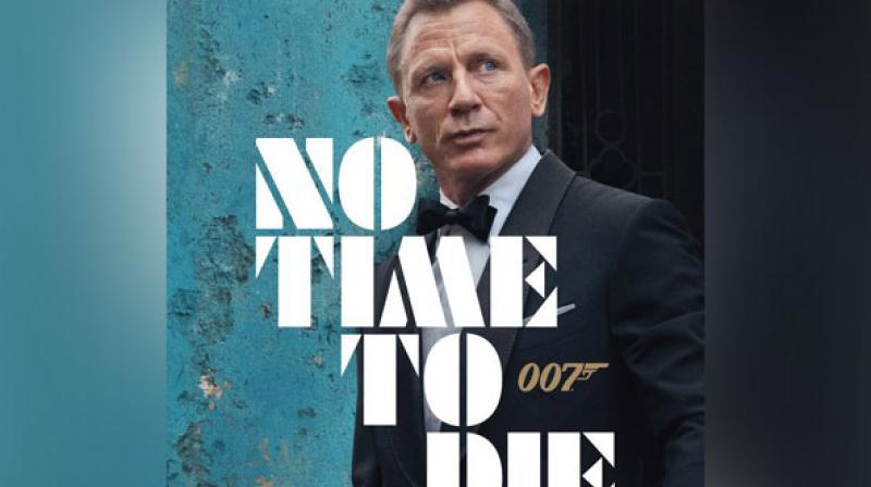 No Time To Die poster. (Photo: Twitter)