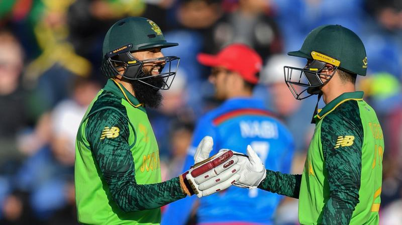 Faf du Plessis's side endured a torrid start to their campaign, losing their first three matches before a no result against the West Indies. (Photo:AFP)