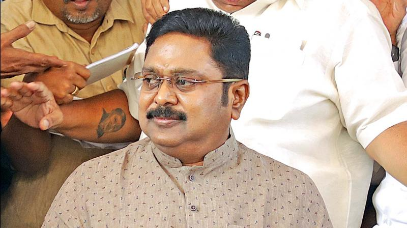 AMMK headed by TTV Dhinakaran Monday urged the Election Commission to allow agents of political parties to stay round-the-clock at centres where EVMs used in the April 18 Lok Sabha elections in Tamil Nadu are stored. (Photo: File)