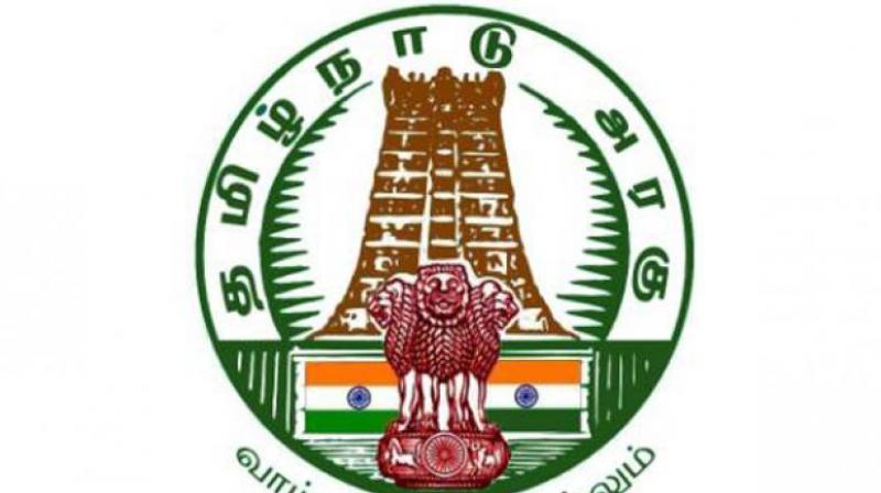 Tamil Nadu government logo.