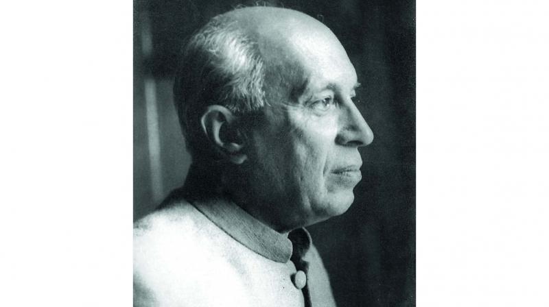 Jawaharlal Nehru by Manobina Roy