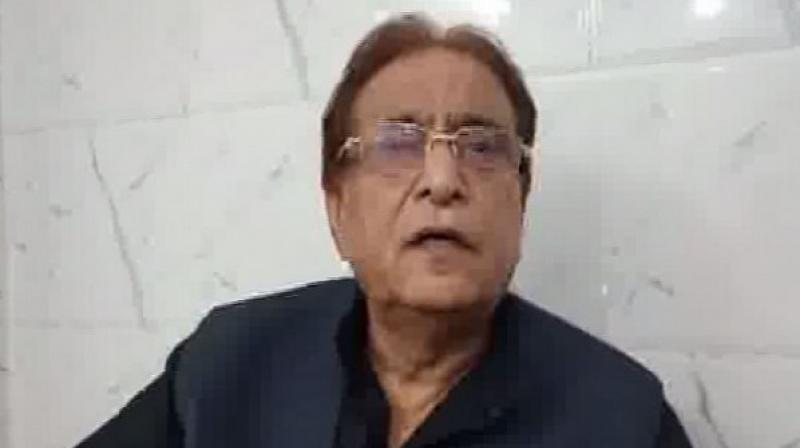 Azam Khan made statement after BJP's Bhopal candidate Pragya Singh Thakur courted a controversy by calling killer of the Mahatma Gandhi a 'patriot'. (Photo: ANI)