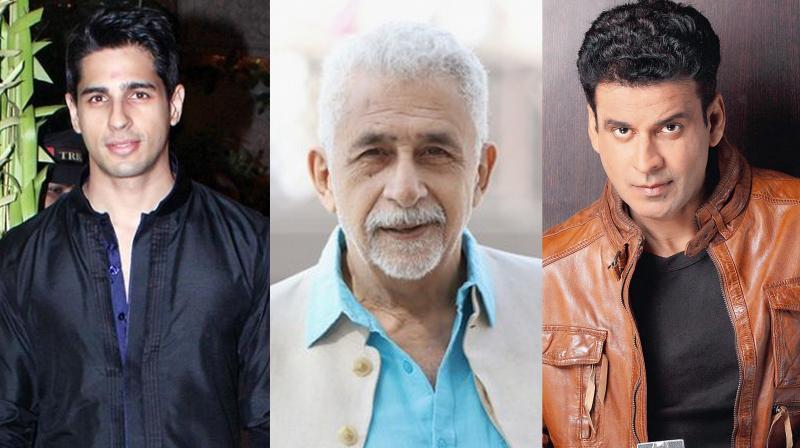Naseeruddin Shah joins Sidharth Malhotra and Manoj Bajpayee on Neeraj Pandey's 'Aiyaary'.