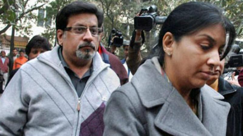 The dentist couple, Nupur and Rajesh Talwar, were on Thursday acquitted in the double murder case of their daughter Aarushi and maid servant Hemraj in Noida in May 2008. (Photo: PTI | File)